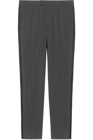 Gucci Heritage mohair wool trousers