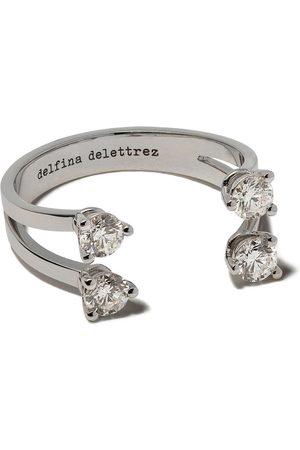 DELFINA DELETTREZ Prickig diamantring
