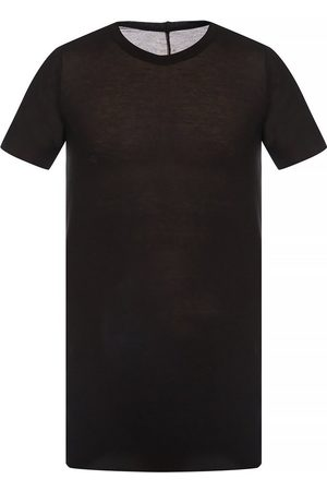 Rick Owens T-shirt with decorative topstitching
