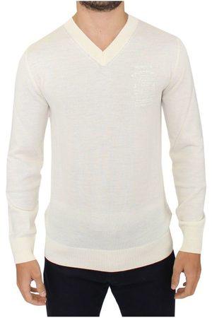 ERMANNO SCERVINO Wool Blend V-neck Pullover Sweater