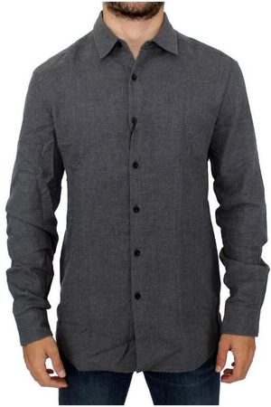 Costume National Cotton slim fit shirt