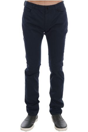 Costume National Cotton Stretch Slim Fit Pants