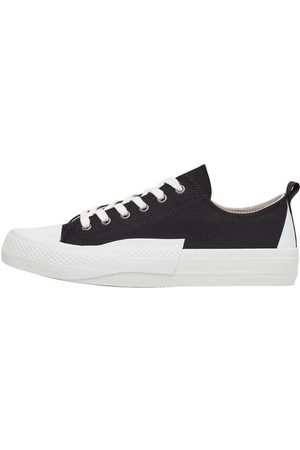 Bianco Man Sneakers - Canvas Trainers Man