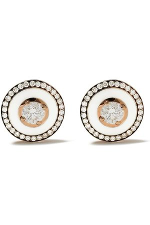 SELIM MOUZANNAR 18kt diamond Mina earrings