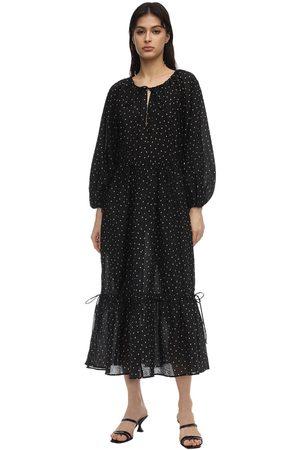Bec & Bridge Paradise Printed Cotton Midi Dress
