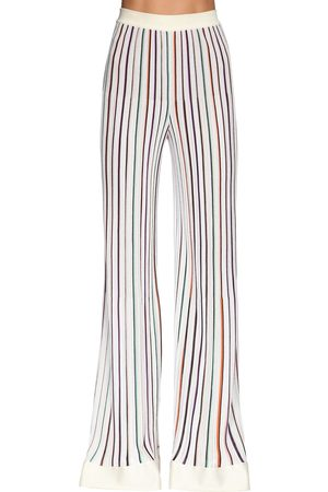 Missoni Stretch Knit Wide Leg Pants