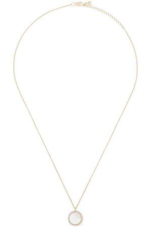 Mateo Kvinna Halsband - 14K pearl and crystal necklace