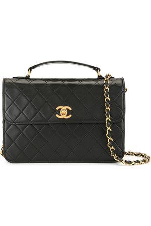 CHANEL Quiltad handväska med axelrem