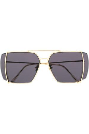Retrosuperfuture Teorema solglasögon med graverad logotyp