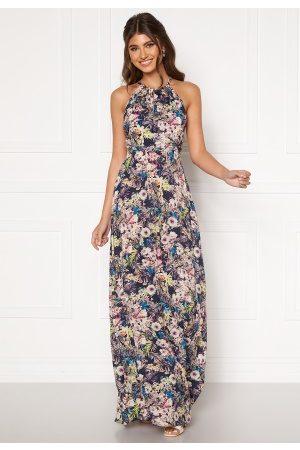 Zetterberg Couture Safira Long Flower Dress Flower print 42