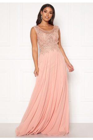 Susanna Rivieri Dream Chiffon Dress Blush 40 (ES42)