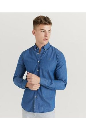 Morris Skjorta Julian Button Down Denim Shirt