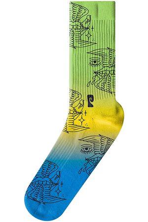 Psockadelic Dirtsquid Siren Socks multi
