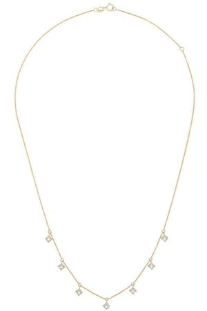 Dana Rebecca Designs 14K yellow gold diamond charm necklace