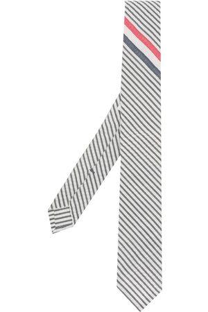 Thom Browne Randig spetsig slips
