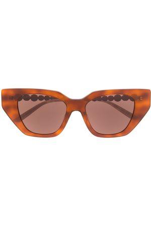 Gucci Cat eye-solglasögon med strass