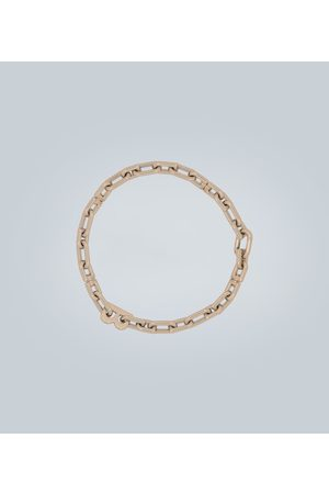 Balenciaga B Chain thin necklace
