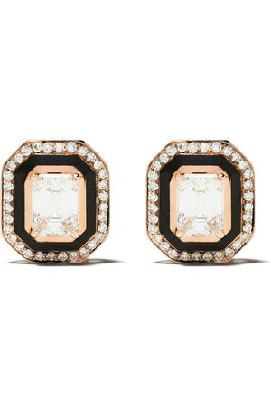SELIM MOUZANNAR 18kt diamond Mina earrings