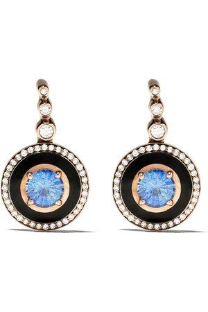 SELIM MOUZANNAR 18kt Mina Sapphire And Diamond Earrings