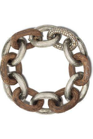 SELIM MOUZANNAR Diamond Link bracelet