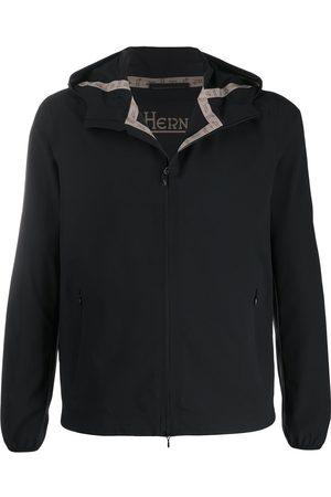 HERNO Hooded waterproof jacket