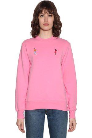 Kirin Embroidered Dancers Sweatshirt