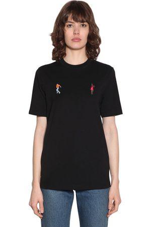 Kirin Dancers Embroidered Jersey T-shirt