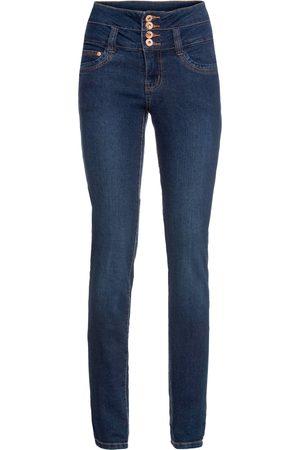 Bonprix Kvinna High waist - Jeans med hög midja