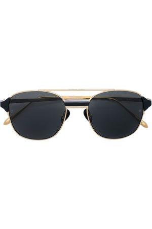 Linda Farrow Reed fyrkantiga solglasögon