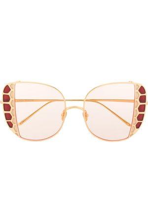 Linda Farrow Amelia oversized sunglasses