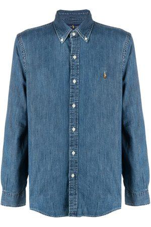 Polo Ralph Lauren Jeansskjorta med knäppning