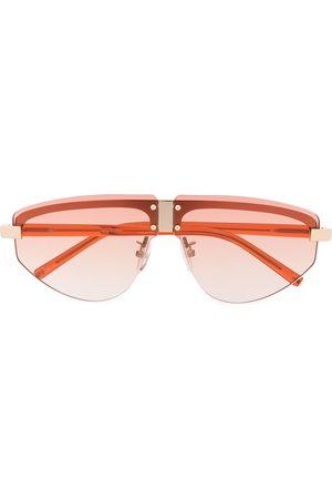 Linda Farrow Kvinna Solglasögon - Hyacinth aviator frame sunglasses