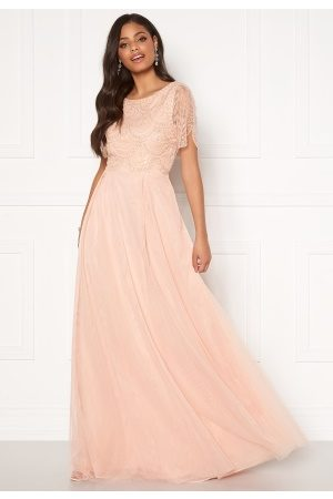 Moments New York Cornelia Beaded Gown Pink 42
