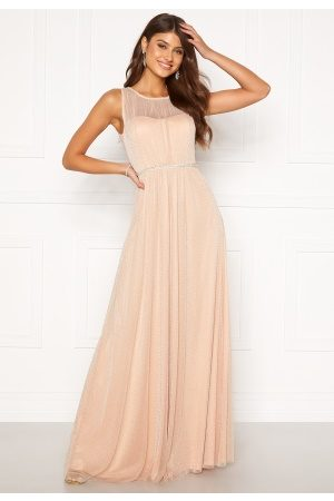 Moments New York Ophelia Lurex Gown Light pink 42