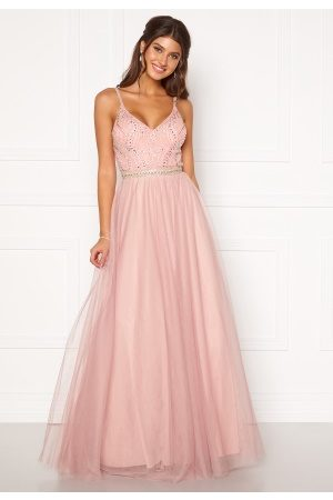 Moments New York Anessa Sparkle Gown Light pink 36