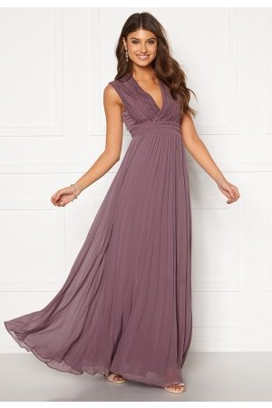 Moments New York Loana Crochet Gown Light lilac 34