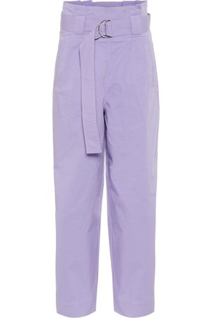 Ganni High-rise straight pants