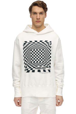 AMBUSH Man Hoodies - Printed Cotton Jersey Sweatshirt Hoodie