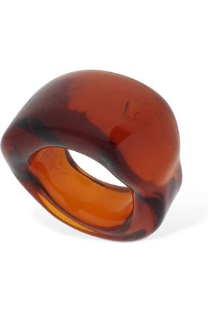 MARYAM NASSIR ZADEH Kvinna Ringar - Wave Glass Ring