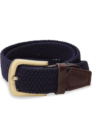 Barbour Stretch Webbing Lth Belt Accessories Belts Braided Belt
