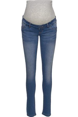 Mama Licious Kvinna Slim - Mlfifty 002 Slim Jeans Noos A. Slimmade Jeans
