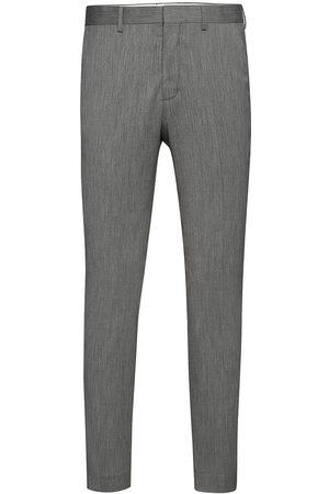 Selected Slhslim-Mylobill Lt Grey Strc Trs B Noos Kostymbyxor Formella Byxor