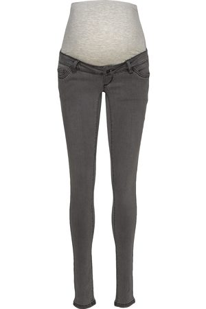 Mama Licious Mllola Slim Grey Jeans A. Noos Slimmade Jeans
