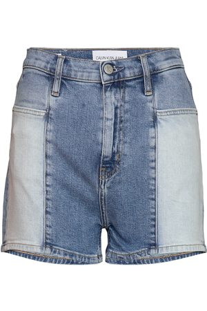 Calvin Klein Jeans High Rise Short Shorts Denim Shorts
