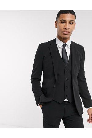 ASOS – kavaj med fyrvägsstretch och supersmal passform, del av kostym