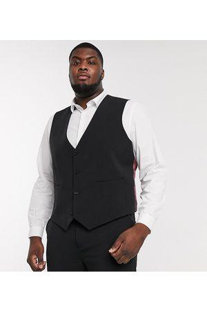 ASOS – Plusstorlek – kostymväst med supersmal passform och fyrvägsstretch
