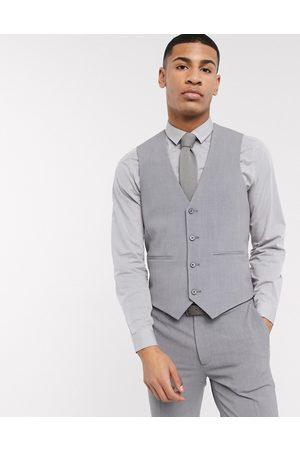ASOS Man Kostymer - – kostymväst i fyrvägsstretch med supersmal passform
