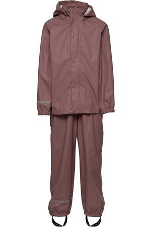 Name it Nkndry Rain Set Noos Outerwear Rainwear Sets & Coveralls Grön