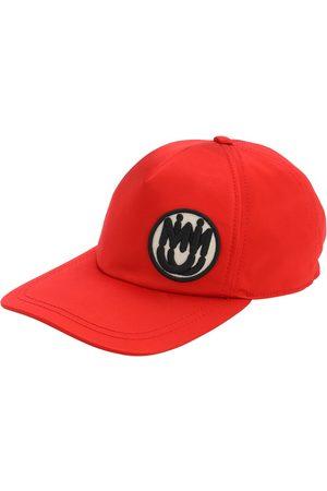 Miu Miu Satin Baseball Hat W/ Logo Patch