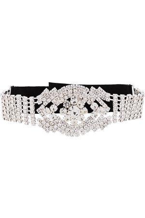 Manokhi Rhinestone choker necklace